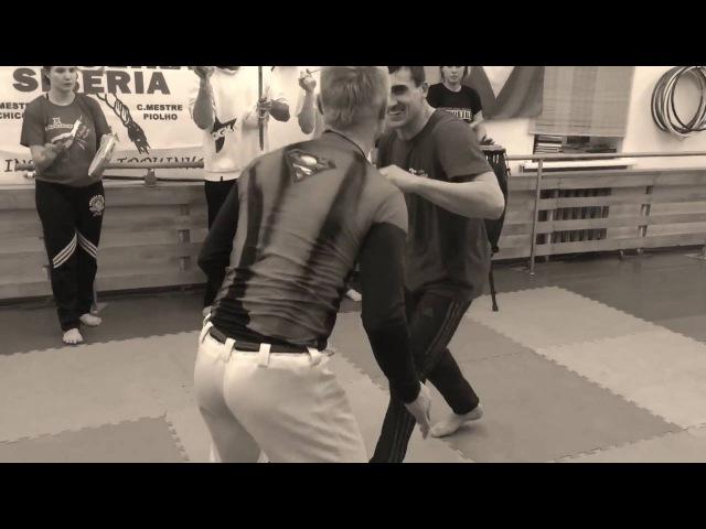 Наработка бросков Mestre Bimba Cintura Desprezada