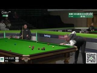 John Higgins 132 v Alex Borg UK Championship 2016