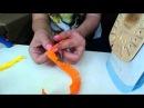 Видео мастер- класс по изготовлению герберы из фоамирана flowers fom