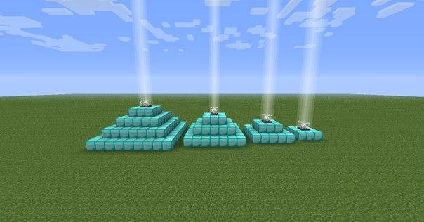 как сделать маяк в майнкрафте #2