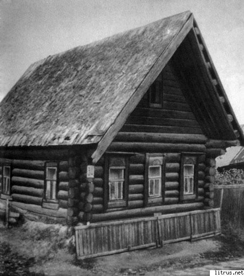 габаритов деревенский дом без гвоздей рисунок том, что передние