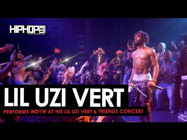 Lil Uzi Vert Performs WDYW at his Lil Uzi Vert Friends Concert HHS1987 Exclusive