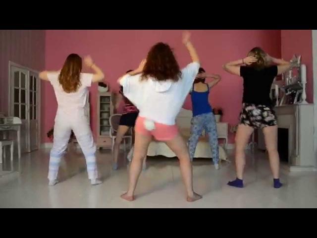 Dancehall Choreo by JuliYago T O K WINE GIRL
