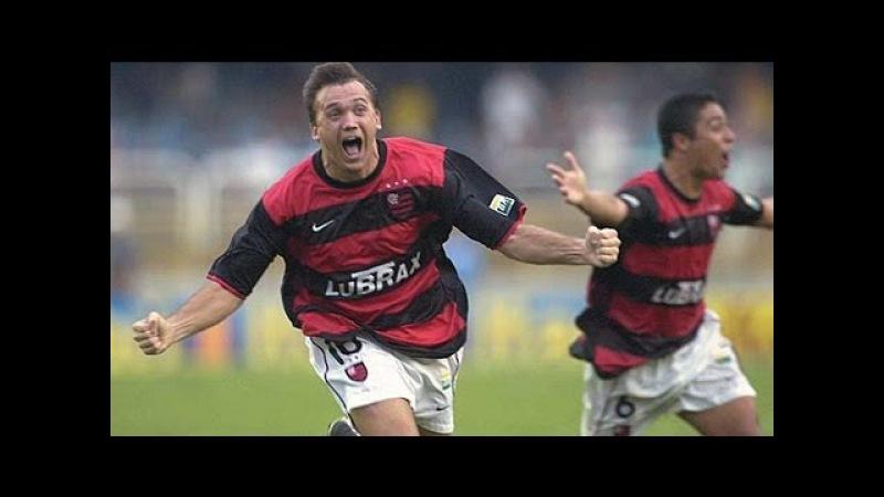 2001 Flamengo 3 x 1 Vasco GOL de Petkovic GOL do TRI vários ângulos edição de FSN
