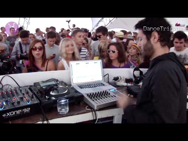Guy Gerber Art Department Maayan Nidam Kazantip Ukraine DJ Set DanceTrippin