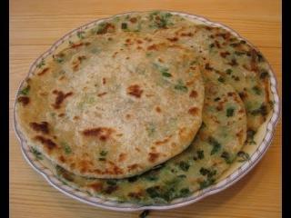 Китайские слоеные лепешки с зеленым луком.Готовим с Ириной Хлебниковой
