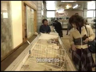CCCР 1991 год. Универсам в Москве: Продукты и цены 90-х
