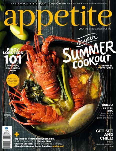 appetite - April 2016