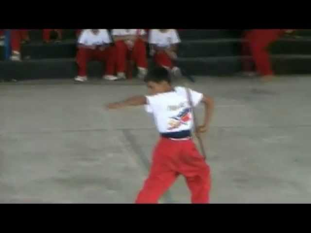 Arnis Phillipines Solo Baston Kata Competition