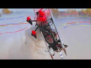 Skip Stewart High Octane Biplane Airshow