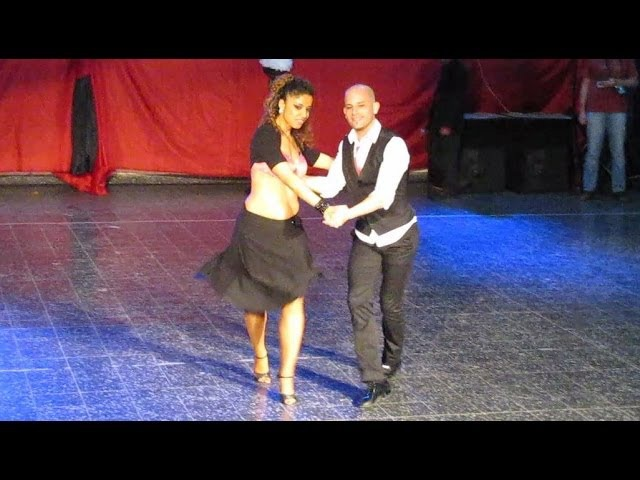 Junín Salsa Congress 2012 ~ Ataca y La Alemana Baby Baby