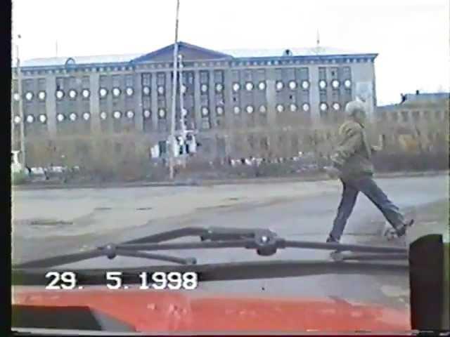 Воркута Назад в 1998 год Автопрогулка по кольцевой