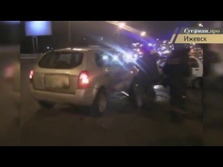 Женщина потеряла ребенка в аварии на улице Удмуртской в Ижевске