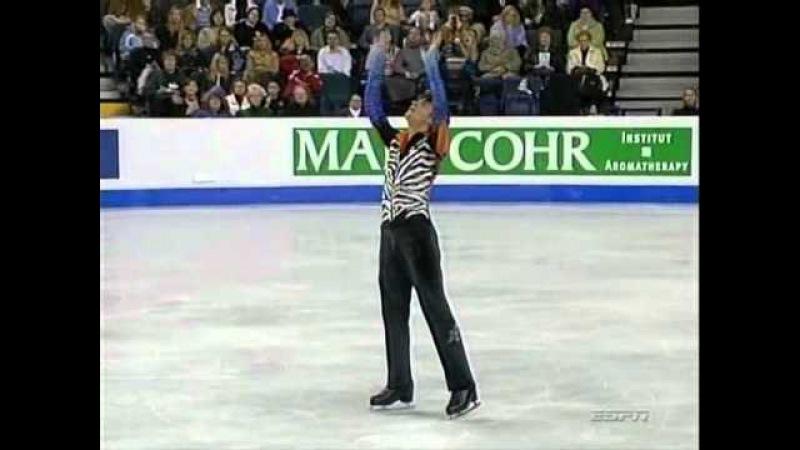 Stephane Lambiel 2006 Worlds LP - Four Seasons (ESPN).avi
