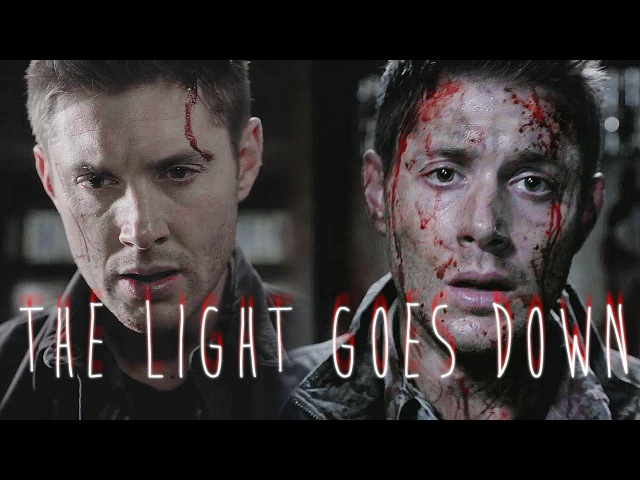 Supernatural Deanmon the light goes down