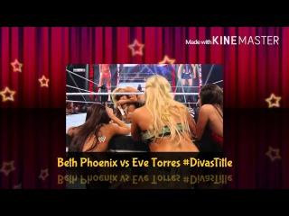 WWE Survivor Series 2011 Eve Torres vs Beth Phoenix For The Divas Championship