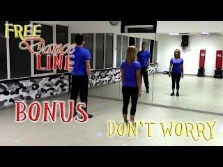 Free Dance Line - BONUS - Don't Worry by Madcon (Balli di Gruppo 2015)