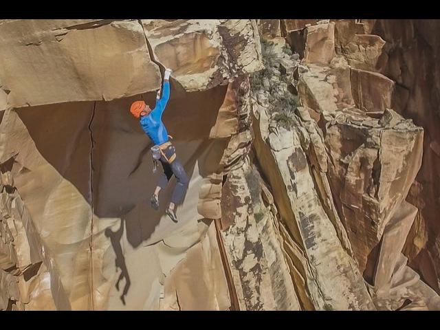 Investing in the Stefan Glowacz Masterpiece, Desert Gold (5.13a) Турист18