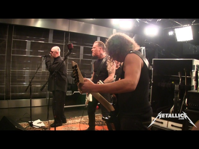 Metallica Rapid Fire Disposable Heroes MetOnTour Golden Gods Rehearsals 2013
