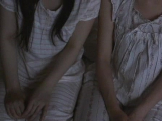 Two japanese girls bedwetting