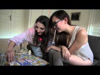 Spanish pornstar Jimena Lago plays La Oca with Harriet Sugarcookie