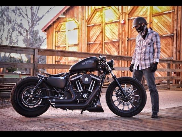 2013 Harley Davidson Custom Sportster - Turn The Page