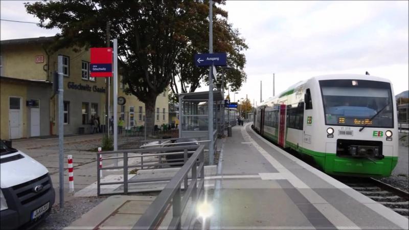 Zugverkehr auf der Thuringer Bahn und im Saaletal Teil 33 Apolda Weimar Jena Goschwitz