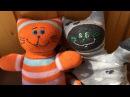 Sock Cat Tutorial. Handmade sock toys for kids