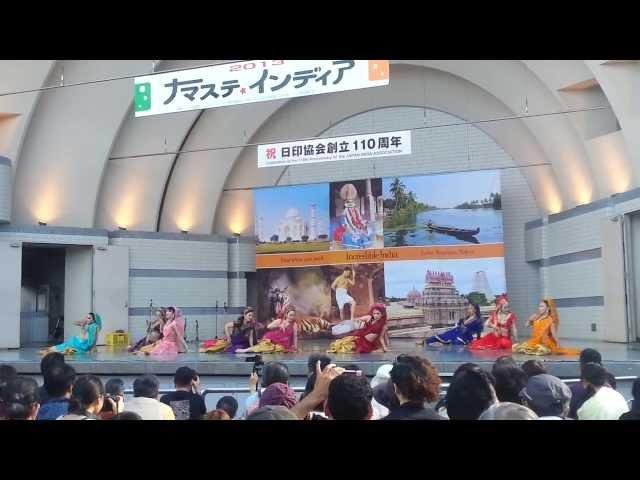 Tumhari Adao Pe Main Vari Vari by Japanese Dancers Namaste India 2013 Tokyo Japan