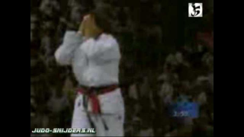 Judo 1996 Atlanta Scapin ITA Essombe FRA 72kg