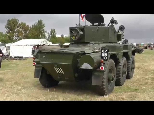 Alvis Saladin - Short Clip - That Rolls Royce 8 Cyl Engine Sounds Sweet