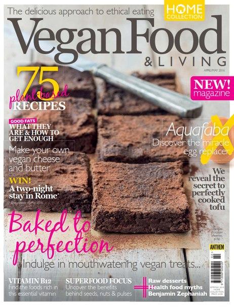 Vegan Food & Living - April-May 2016 vk.com