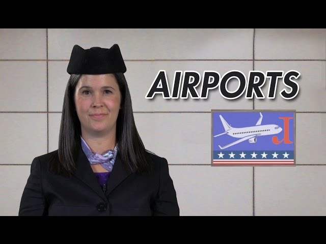English Conversation – Checking in at an airport – American English