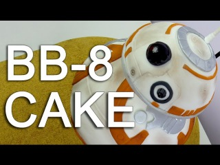 [] How To Make A STAR WARS BB-8 CAKE