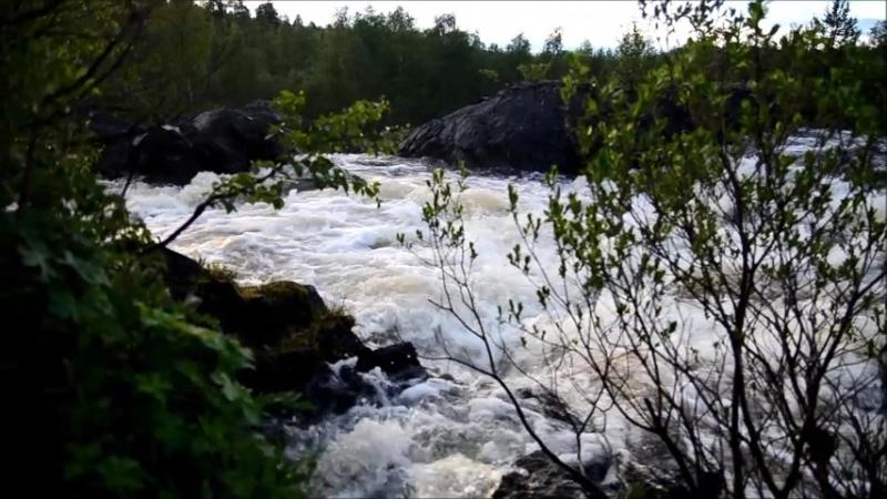 Водопад Шуонийоки п Никель