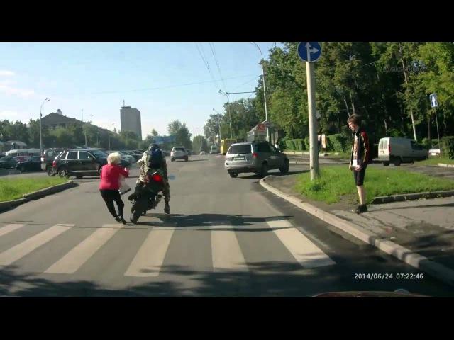 МотоХрустик 10 Охотник на бабуль