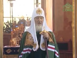 Патриарший визит в Александро-Свирский монастырь