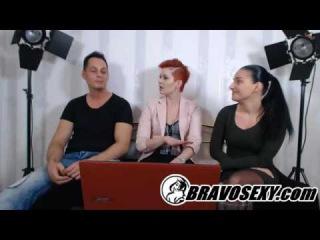 BravoSexy talk LIVE -  - Lucia Denvile and boyfriend