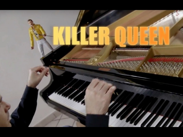 QUEEN Killer Queen ♫ ♫ ♫ HD Piano Cover play by Ear by Fabrizio Spaggiari Aka Jazzy Fabbry