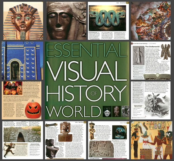 National Geographic Essential Visual History of World Mythology 2008