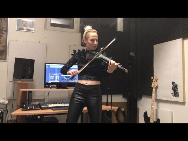 Shape of You Ed Sheeran Amadeea Violin Cover Alex Cooper Remix