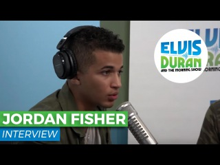 Jordan Fisher on 'Grease Live' and New Single 'All About Us' | Elvis Duran Show