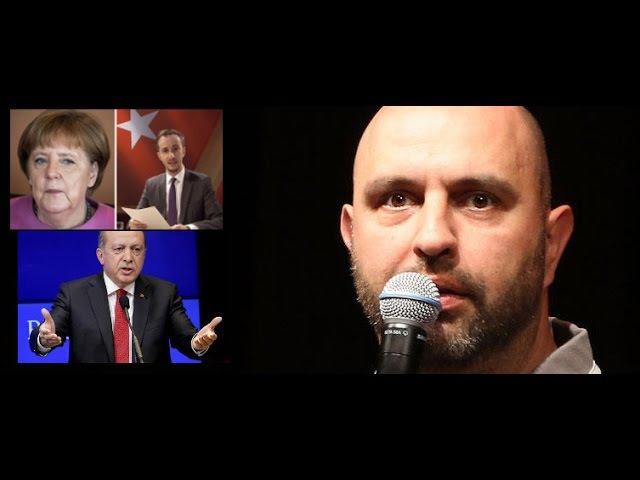 Serdar Somuncu klartext zu Merkel Erdogan und Böhmermanns Schmähgedicht