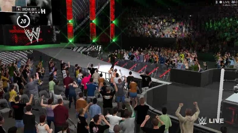 Falls count Undertaker VS Shane McMahon