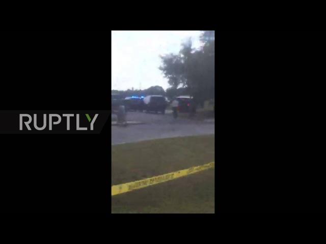 США Подросток убивает своего отца до школы стрельбы в Таунсвилл Южная Каролина