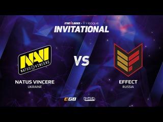 Natus Vincere vs Effect, Game 2, SL i-League Invitational S2, EU Qualifier