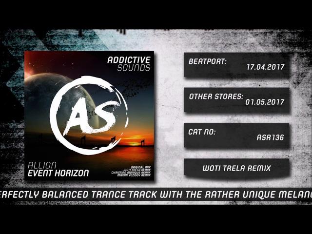 Allion Event Horizon Woti Trela Remix
