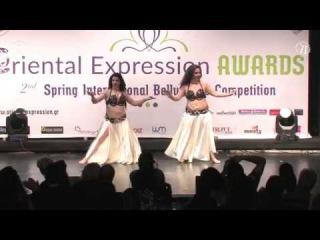 Belly dance Duet 2017 Samira-Korina