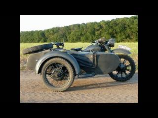 Реставрация Мотоцикла К - 750