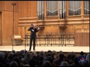 Bach. Sonatas and Partitas for violin solo. Part 1. Kristof Barati